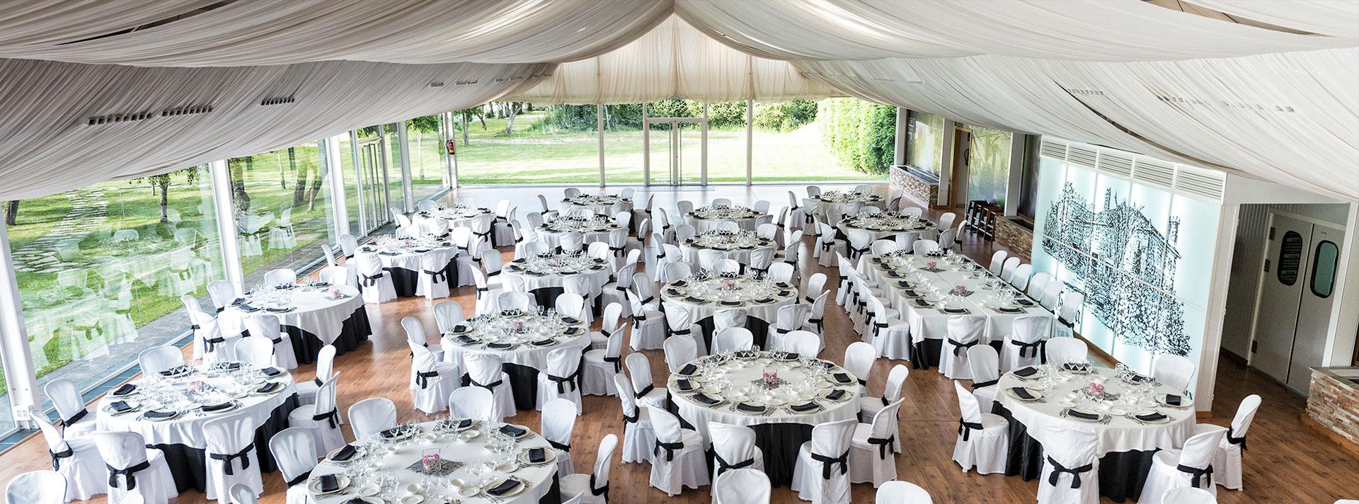 Restaurante para bodas y banquetes en Alfoz